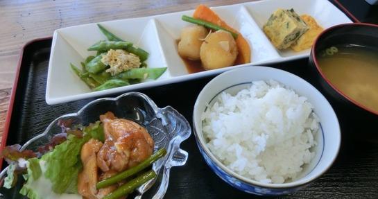 箸折茶屋の日替りランチ
