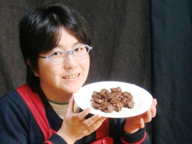 Photo 340 涼子ちゃんと手作りチョコクランチ(3)@横浜市・くまぷう家