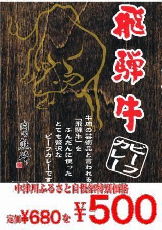 カレー500円ポップA4