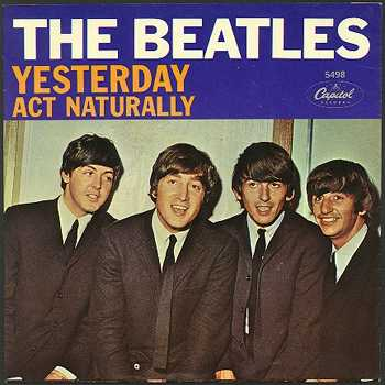Beatles-singles-yesterday