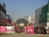 20121005太原街5瀋陽駅工事中