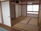 山古志モデルハウス高床和室