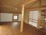 山古志モデルハウス高床3階