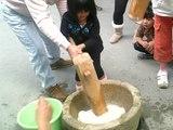 20091023収穫祭餅つき