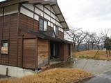 山古志モデルハウス卒業記念樹の桜