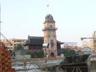 20111218城と時計台