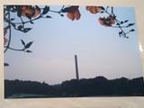 20090215和名ヶ谷の煙突花