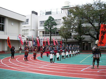 戸山小校庭2