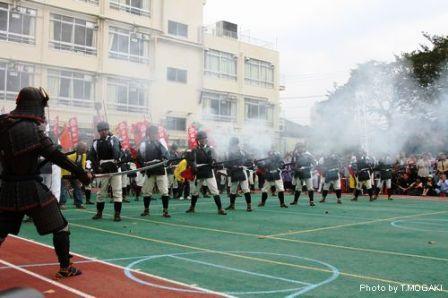 鉄砲隊 戸山小学校2