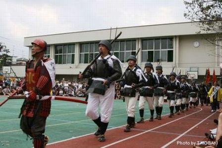 鉄砲隊 戸山小学校