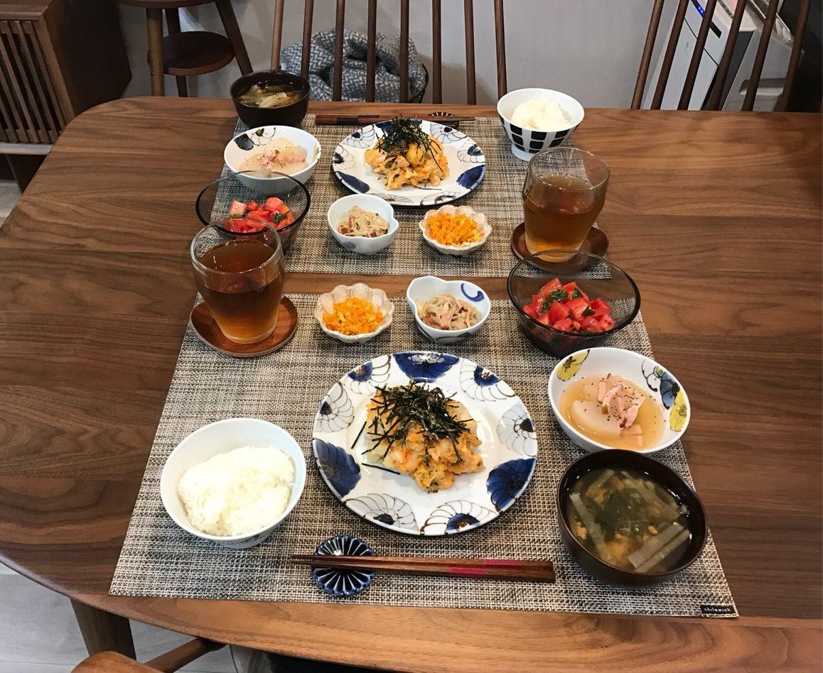 無印のアカシアトレイで常備菜ワンプレごはん。 : 鍋好きのごはん日記。