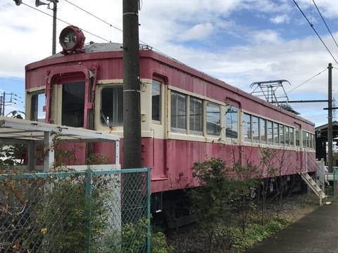 【貝塚】水間鉄道クハ553/水間観音駅