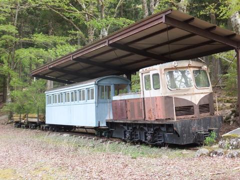 【伊豆】木曾森林鉄道の車両 天城ゆうゆうの森