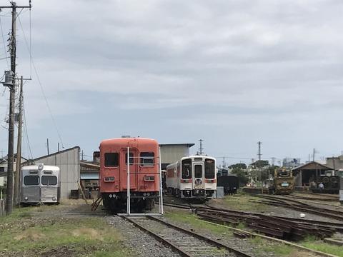 【ひたちなか】ケハ601とキハ203 那珂湊駅