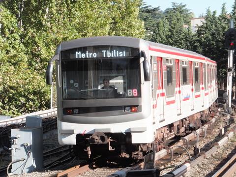 【グルジア】トビリシの地下鉄