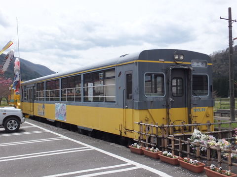 【会津若松】会津鉄道AT-301 芦ノ牧温泉駅