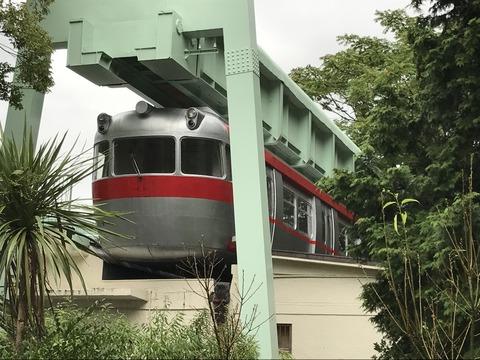 【名古屋】東山公園モノレールの車両 東山動物園