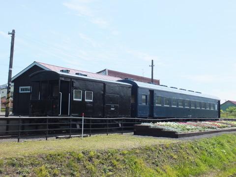 【共和】スハフ42-507+ワフ29587 幌似鉄道記念公園