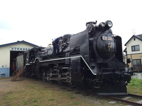 【安平】D51-320 安平町鉄道資料館