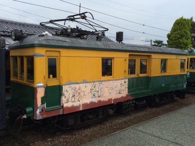 新潟交通モワ51形電車