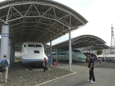 【米原】鉄道総合技術研究所・新幹線高速試験車両保存場