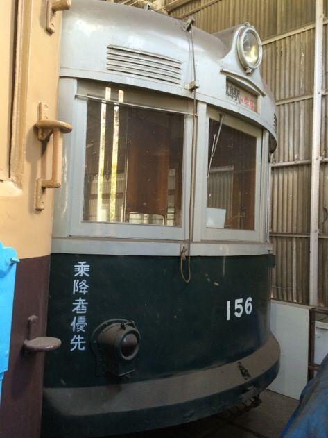 【広島】江波車庫の保管電車 その2