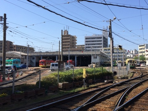 【長崎】浦上車庫の保管電車たち