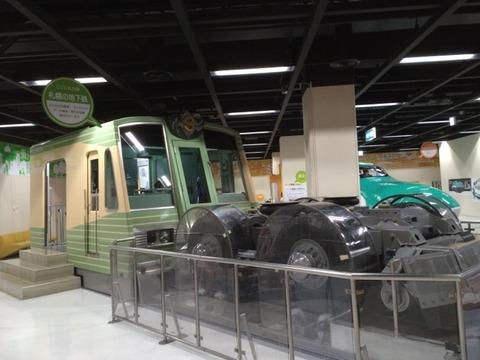 【札幌】地下鉄6000形のレプリカ 青少年科学館