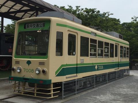 【大田区】都電7008と東武34号蒸機 萩中公園