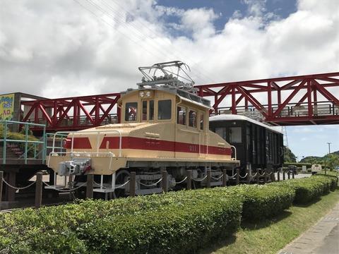 【田原】豊橋鉄道デキ211+デワ11 サンテパルクたはら