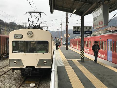下仁田から軽井沢へ、バスと徒歩で通り抜け