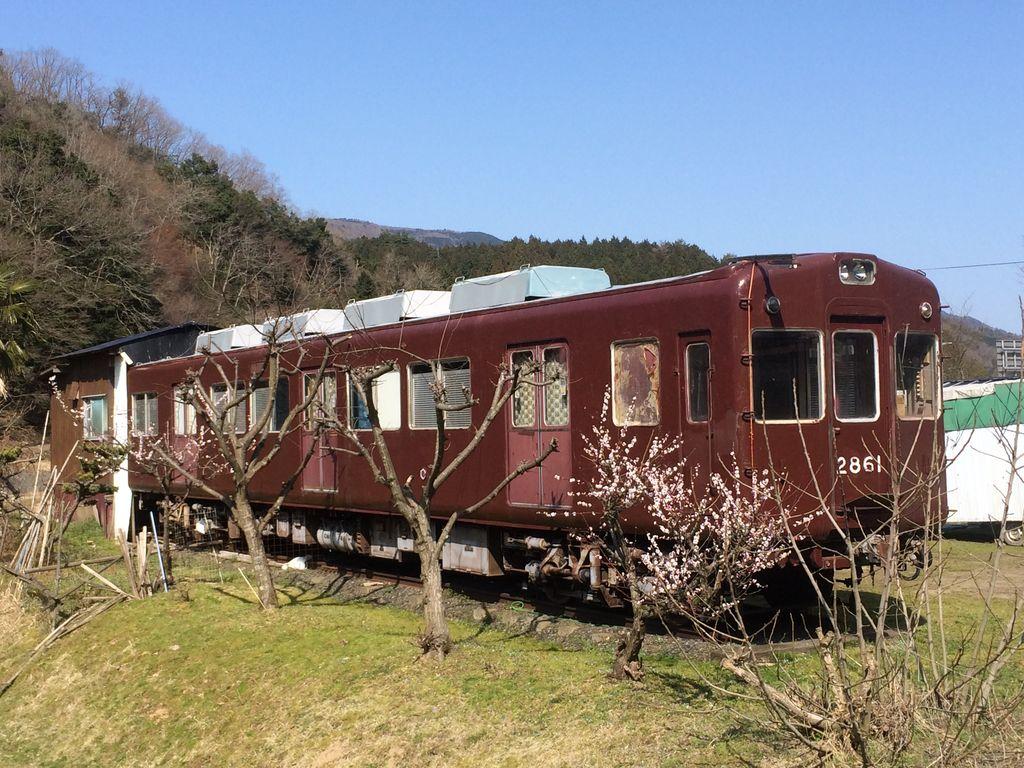 【福知山】阪急2861 個人宅 : 保存車めぐりの記録
