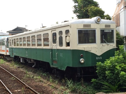 【御坊】紀州鉄道キハ603 紀伊御坊駅