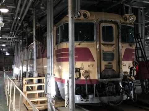【青森】メモリアルシップ八甲田丸の展示車両