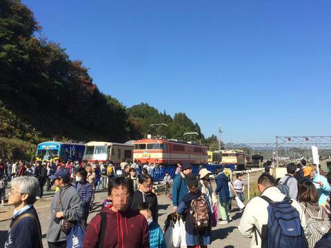西武横瀬車両基地の保存車