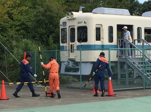 【厚木】小田急クハ2657 神奈川県消防学校