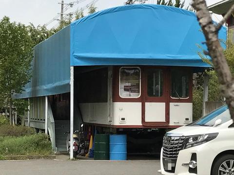 【某所】近鉄モ1474/某学校