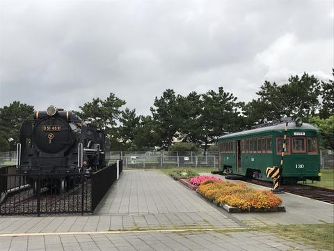 【高石】D51-469&阪堺電軌モ130/浜寺交通遊園