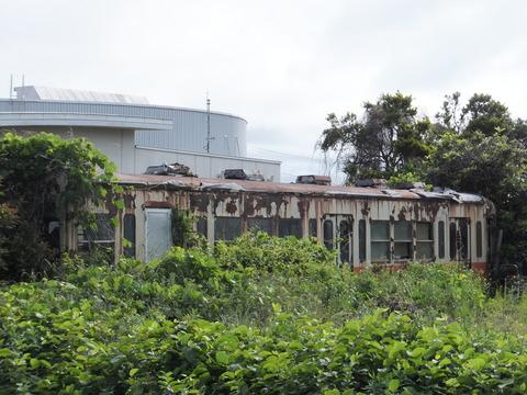【某所】日立電鉄クハ109 某運送会社
