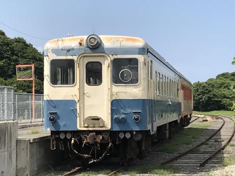 【ひたちなか】キハ222+キハ2005 阿字ヶ浦駅