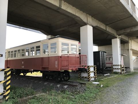 【瀬戸内】下津井電鉄の車両 おさふねサービスエリア