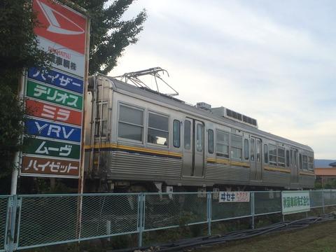 【高崎】京王デハ3063 某自動車整備場