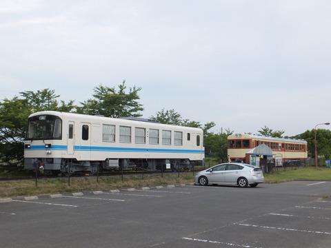 【鉾田】鹿島キハ601とKR505 ほっとパーク鉾田