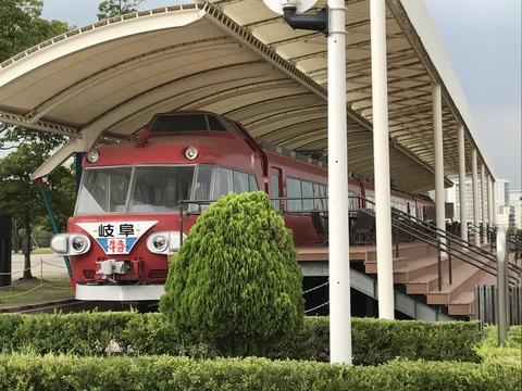 【豊明】名鉄7000系3両 中京競馬場