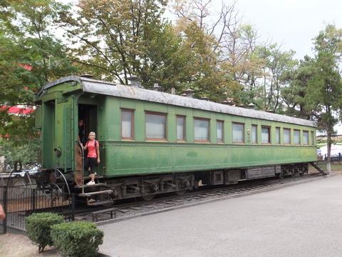 【グルジア】スターリン専用客車