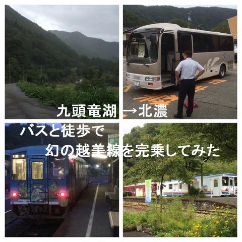 【福井県→岐阜県】バスと徒歩で幻の「越美線」を完乗してみた。