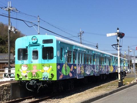 【西脇】キハ30-70・72 市原駅跡