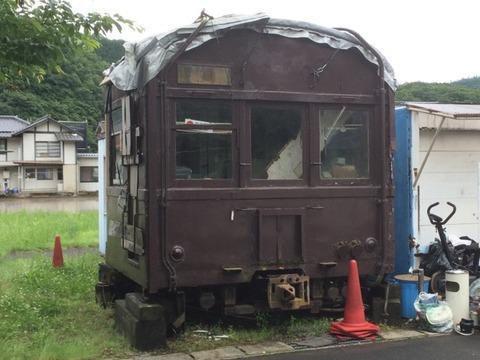 【美咲】クモハ73-383 旧吉ケ原駅前