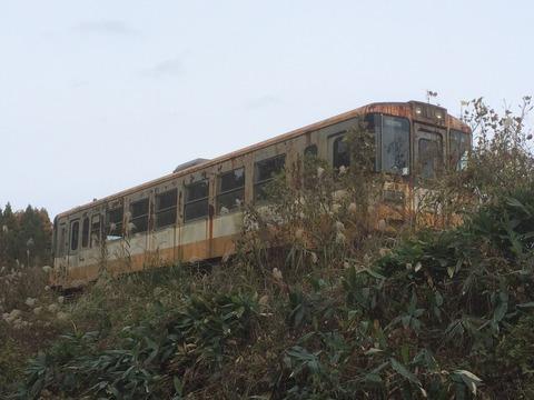 【珠洲】のと鉄道NT102 蛸島駅近く