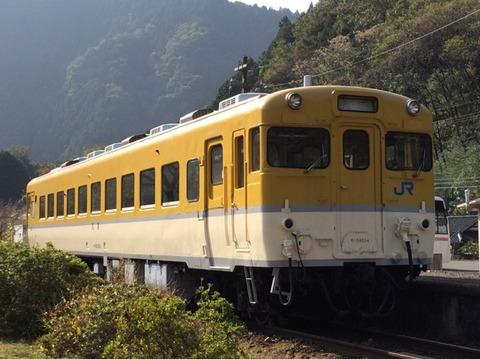 【安芸太田】キハ58-554 安野駅跡